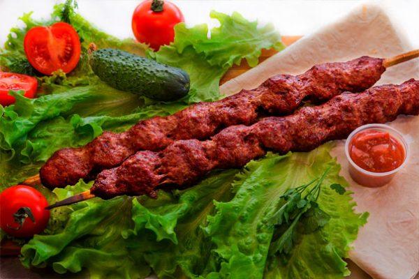 Люля-кебаб из мраморной говядины